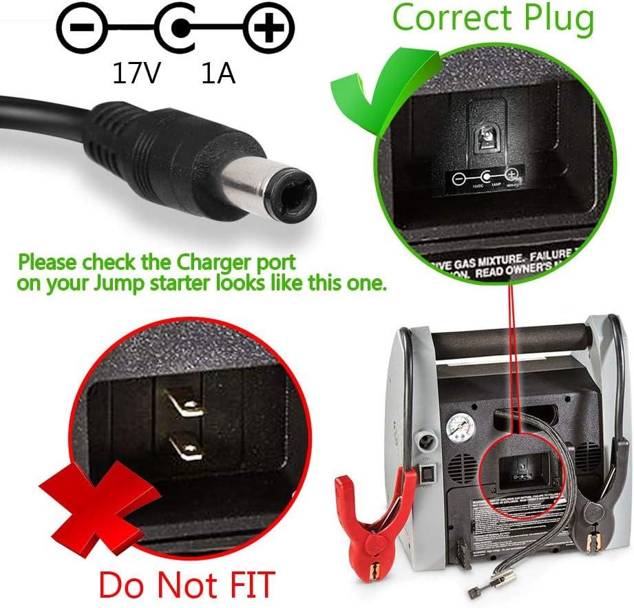 17V 1A Power Supply Adapter for Die Hard Portable Power 950 1150 Jump Starter Mains, for Bose Soundlink I II III 1 2 3 Wireless Mobile Speaker
