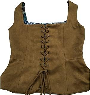 Vintage Medieval Corset Vest Gilet for Women Girls