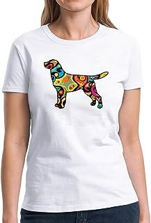 Eddany Psychedelic Labrador Retriever Women T-Shirt