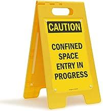 SmartSign Folding Floor Sign, Legend