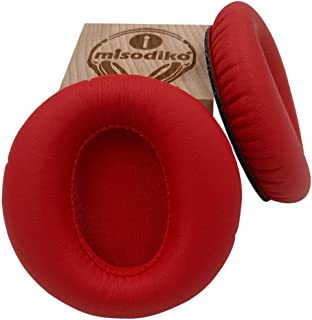 misodiko Ear Pads Cushions Kit - Compatible with Cowin E-7& E7 Pro Wireless Over Ear & Other Headphones   Replacement Headphone Earpads   Red