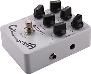 Joyo JF-15 California Sound Effects Pedal with Modern Ultra-High Gain Amp Simulator and Unique Voice Control