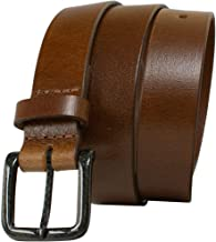 Specialist Brown Carbon Fiber Belt Nickel Free Solid Leather Beep Free USA Made
