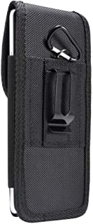 DFV mobile - Belt Case Cover Nylon with Metal Clip New Style Business for AGM A8 - Black