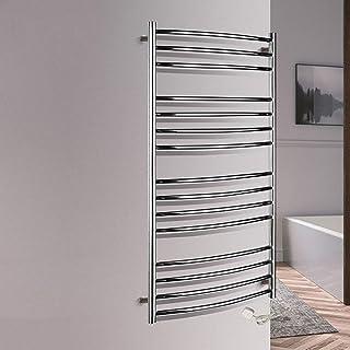 MJJ Radiador de Toalla radiador toallero para baño Toallero electrico de pie Calentador 1200 * 600 * 125mm