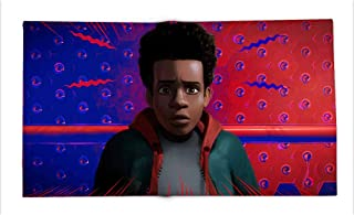 Yloveme Double-Sided Printing Blanket Spiderman into The Spider Verse Miles Morales All Season Blanket for Bed 70x90 inches