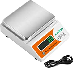 KUBEI High Precision 10kg x 0.1g Digital Accurate Grams Scale Analytical Electronic Balance Lab Scale Laboratory Industrial Weighing