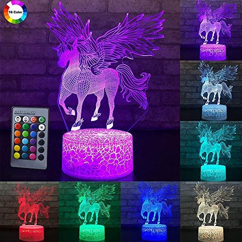 3W Télécommande ou Touch Control 3D LED Night Lumière de la Licon Lampe de bureau de la table de la forme de Noël de Noël Accueil Décoration Beaux cadeaux pour enfants D23