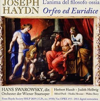 Haydn: L'anima del filosofo ossia Orfeo ed Euridice