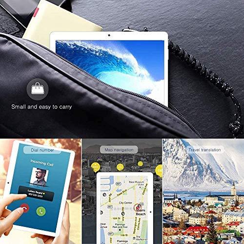 Android 9.0 Tablet 10 INCH Quad-Core-Prozessor 4 GB RAM und 64 GB Tablet PC WiFi-Speicher GPS-Kamera und Zwei Kartensteckplätze (Black)