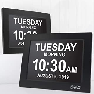 Best american lifetime day clock manual Reviews