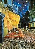 ToyHero Puzle clásico de 1000 piezas – Van Gogh Cafe Terraza por la noche – Familia de pinturas famosas – Puzzle de 1000 piezas para adultos adolescentes entretenimiento en el suelo