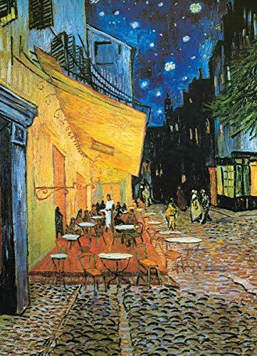 Deerbird Puzzle 1000 Pezzi Van Gogh caffè di Notte Puzzle, Museum Art Collection Puzzle Classici, Puzzle per Adulti e Giovani