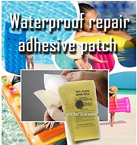 5PC//10PC Inflatable Product Special Repair Patch Swimming Ring Pool Glue Repair Swimming Pool Patch 10 【US Fast Shipping】GANENN Waterproof Tape Polyurethane Repair Patch