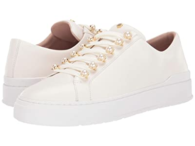 Stuart Weitzman Excelsa Sneaker (Cream Dress Nappa) Women