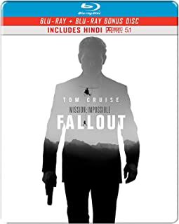 Mission: Impossible 6 - Fallout (Steelbook) (Blu-ray + Bonus Disc) (2-Disc)