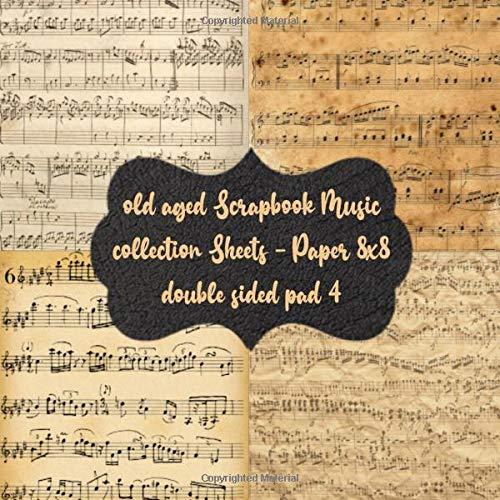 Music Scrapbooking Paper