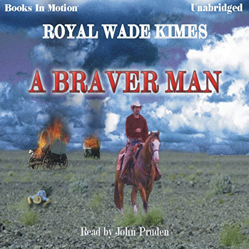 A Braver Man audiobook cover art