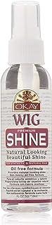 Okay Wig Shine Premiium For Natural And Synthetic Hair Natural Looking Beautiful Shine Oil Free Formula Free of Parabens 2...