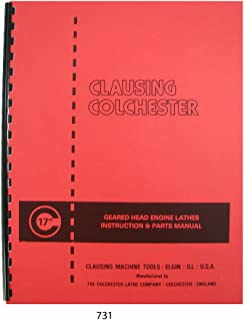 Clausing Colchester 17