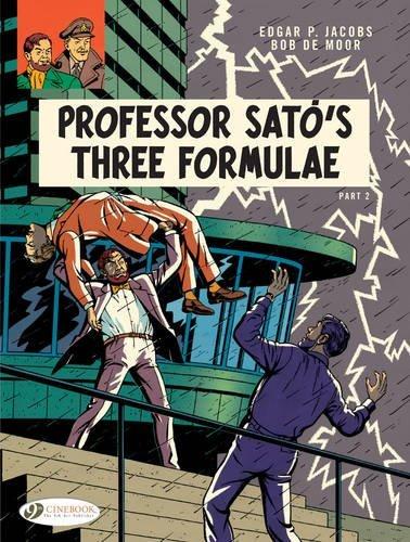 Blake & Mortimer - tome 23 Professor Sato's three formule partie 2 (23)