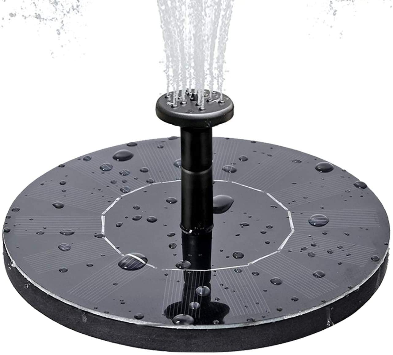 Solar Max 72% OFF Fountain Pump Free Standing Birdbath 2018 Sales