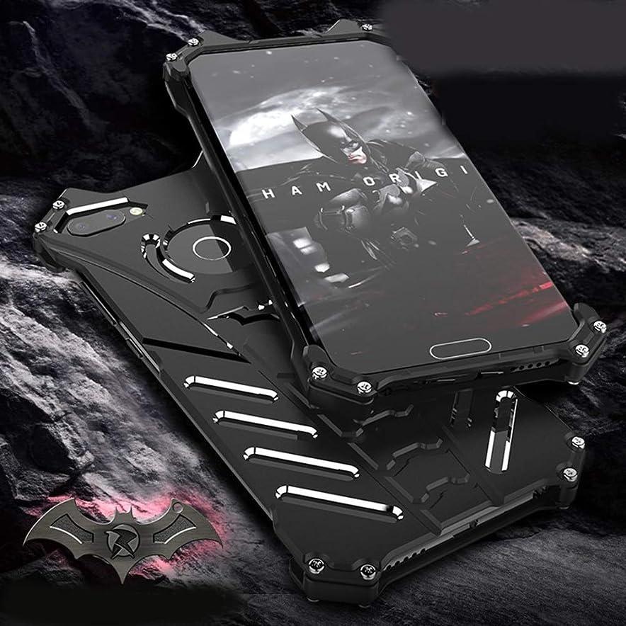 キャリア気体の記念Tonglilili Huawei Playのための携帯電話ブラケットシェルバットアンチフォールスマット耐粉砕シェルオールインクルーシブ電話ケース、8、9、V10、V9、10、10 Lite、Note10、9i、8X、Magic2、V20 (Color : 黒, Edition : 10 Lite)