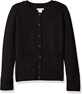 8b81981892 Amazon.com  Big Girls (7-16) - Cardigan   Sweaters  Clothing