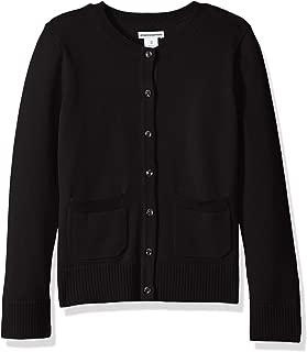 Girls' Uniform Cardigan Sweater