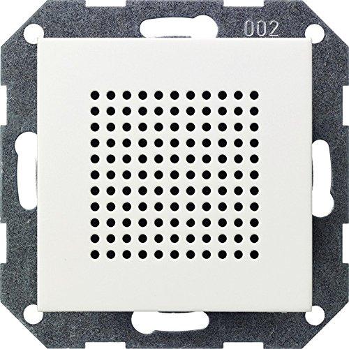 Gira 228203 Zusatz-Lautsprecher zum RDS Radio ST55, reinweiß-glänzend