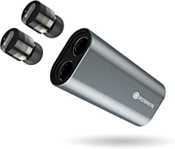 Rowkin Bit Stereo True Wireless In-Ear Headphones w/ Dual-Purpose Power Bank (NAAC10AB) - Space Gray