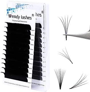 Wimperbehandelingen Easy Fan Russische 0.05mm Easy Fan Volume Wimpers Extensions Self Fanning wimpers 2D 3D 5D 10D 20D Eas...