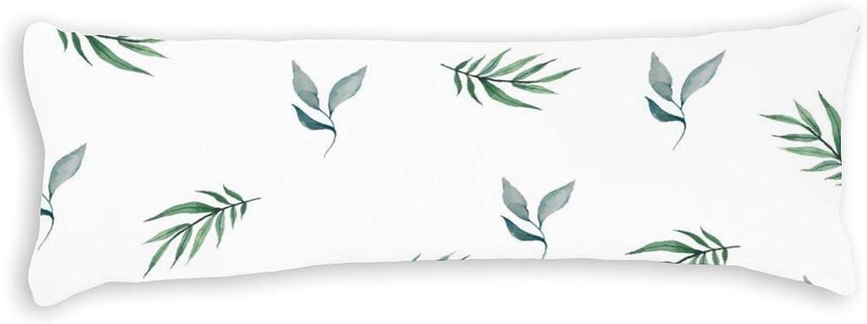 PotteLove Polyester Award Body Pillow Las Vegas Mall Case Cactus Comfortable Plant Na