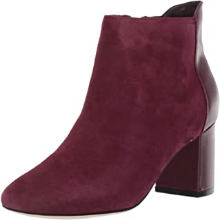 Cole Haan Women's Nella Bootie (65MM) Ankle Boot, Winetasting Suede, 8 B US