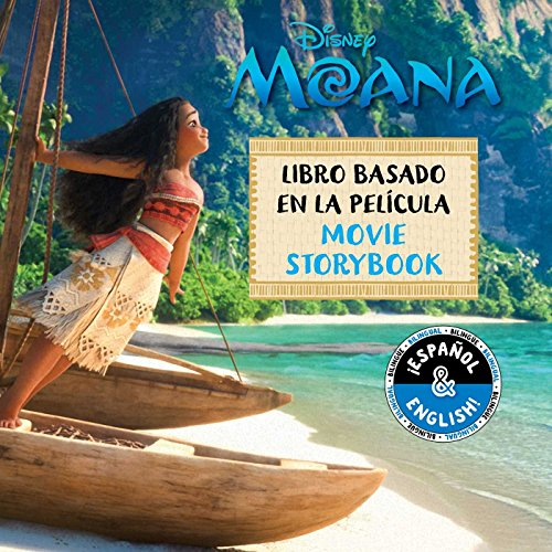 Disney Moana: Movie Storybook/Libro Basado Película