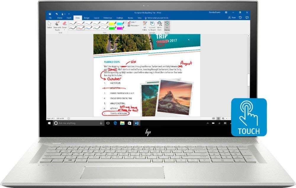 HP Flagship Touchscreen Quad Core MX150 DVD