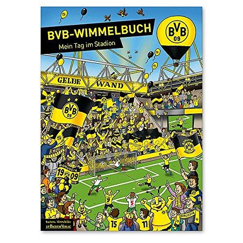 Borussia Dortmund BVB WIMMELBUCH für Kinder & Erwachsene Spiel