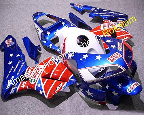Caliente venta accesorios de la cubierta moldeado por inyecci/ón. Moto para CBR600RR F5 2003 2004 600RR 03 04 Movistar motocicleta carrocer/ía pl/ástico carenado Set