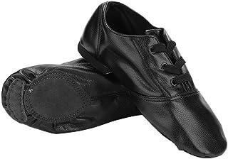 comprar comparacion Alomejor Zapatos de Baile de Jazz, Zapatos de Jazz PU Zapatos elásticos de Jazz para niños Adultos