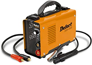 Defort DWI-180S Inverter - Aparato de soldadura (5.3 kW, 10-180