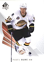 2017-18 SP Authentic #96 Pavel Bure Vancouver Canucks Hockey Card
