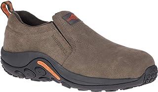 Merrell Men's, Jungle Moc Alloy Toe Work Shoe-Wide Width Gunsmoke 9.5 W