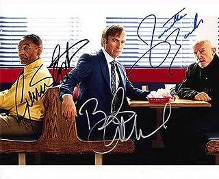 ◆直筆サイン ◆ベターコールソウル ◆BETTER CALL SAUL [TV] ◆ボブ オデンカーク as ジミー マッギル ◆Bob Odenkirk as Jimmy McGill ◆ジョナサン バンクス as マイク エルマントラウト ...
