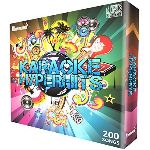 Karaoke CDG Pack. Mr Entertainer Hyperhits familjefest. 200 bästa sånger genom tiden, gamla och nya