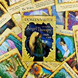 GUOHAPPY Angel Therapy Oracle Cards 44 Cards, Baraja de 44 Cartas, para Principiantes Set (Inglés) Cards