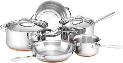 Essteele Per Vita Cookware 5 Piece Set Silver