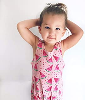 Dusty Road Apparel Organic Cotton Rompers | Fruity | 000-2