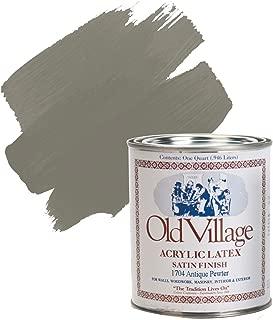 1704pt Antique Pewter Old Village Acrylic Latex Paint