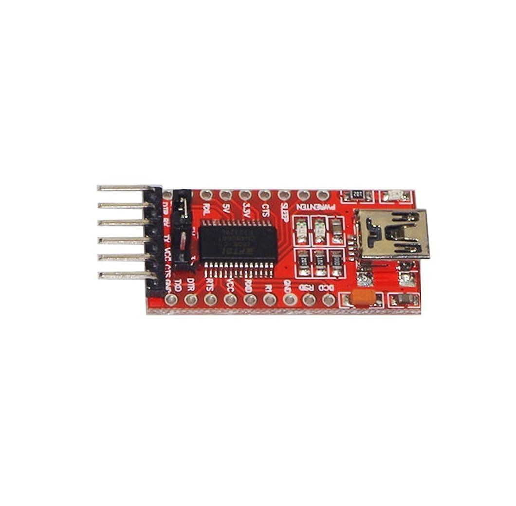 のぞき穴サイレン褒賞Haobase FTDI FT232RL 3.3V 5.5V USB to TTL シリアル コンバーター アダプター モジュール for Arduino