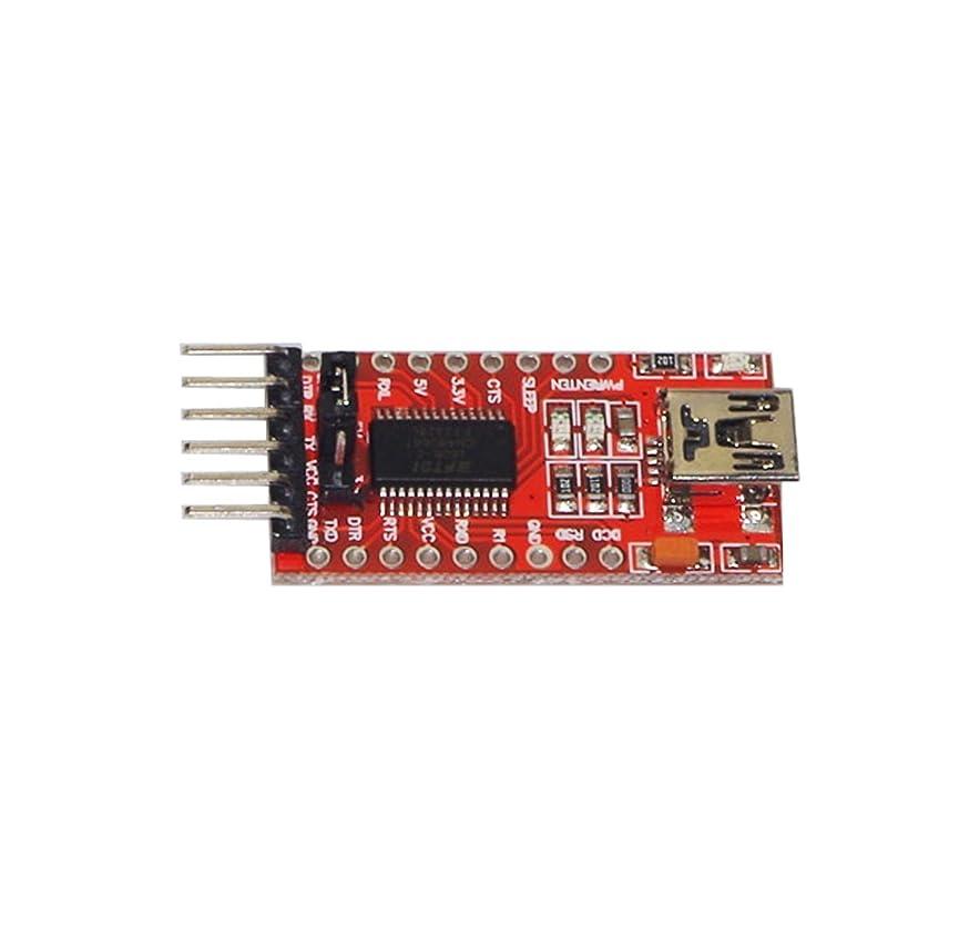時系列はちみつ泣くHaobase FTDI FT232RL 3.3V 5.5V USB to TTL シリアル コンバーター アダプター モジュール for Arduino